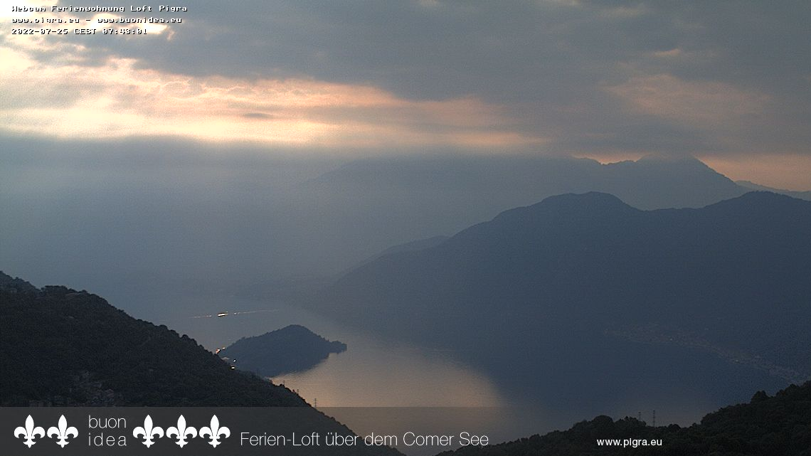 webcam Pigra lago di Como